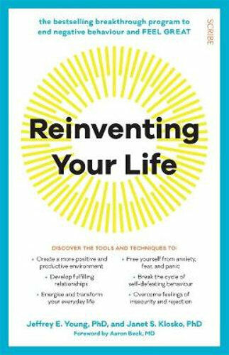 NEW Reinventing Your Life By Jeffrey E. Young Paperback Free Shipping