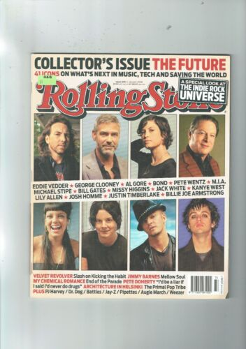 Rolling Stone #673 Jan  2008 THE FUTURE COLLECTORS EDITION  MAE