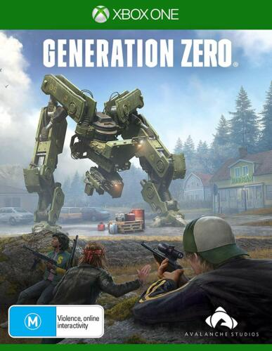 Generation Zero 1980s Sweden Man Vs Machines War Shooter Game Microsoft XBOX One