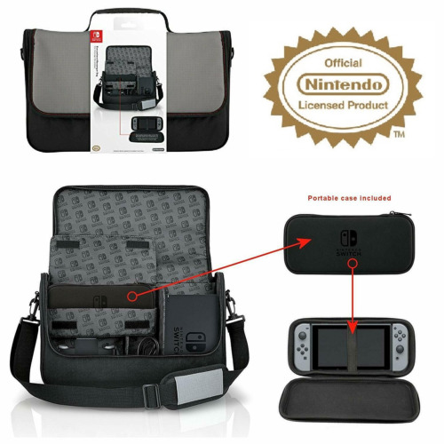 Nintendo Switch Officially Licensed Full Console System Travel Case Carry Bag