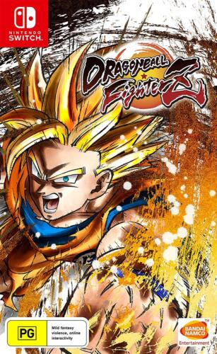 Dragonball Dragon Ball FighterZ Anime Fighting Action Game Nintendo Switch NSW