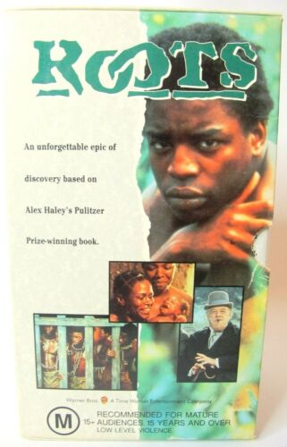 ROOTS - The Original Mini Series - Box Set - Vintage VHS Video Tapes 1993