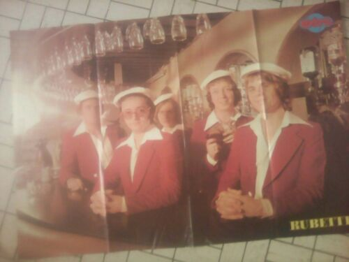 THE RUBETTES poster