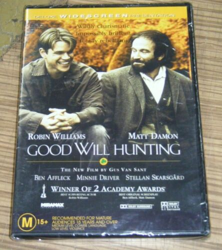New Sealed DVD - Good Will Hunting [A6]
