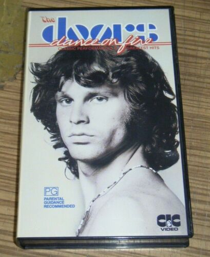 Vintage Pre-Owned VHS Movie - The Doors: Dance On Fire [V2]