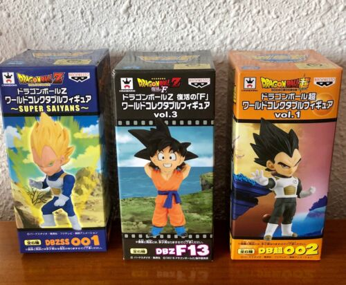 WCF Figurines DBZ  Dragon ball Z neuf BANPRESTO Sayan Bravery vol.2 Vegeta ssj4