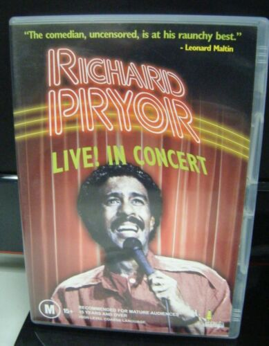 Pre-Owned DVD - Richard Pryor Live! In Concert [A7]