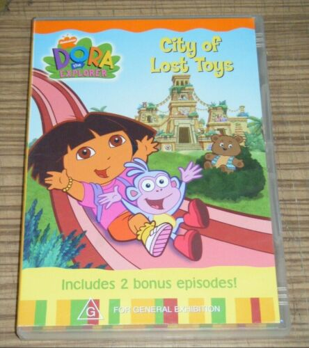 Pre-Owned DVD - Dora The Explorer: City of Lost Toys [A6]