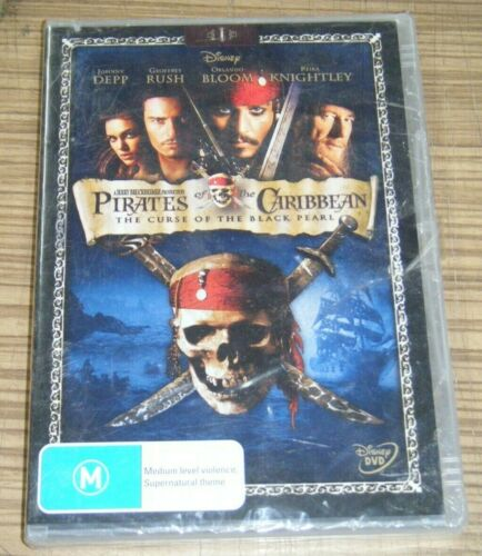 New Sealed DVD - Pirates Of The Caribbean: The Curse Of The Black Pearl [B2]