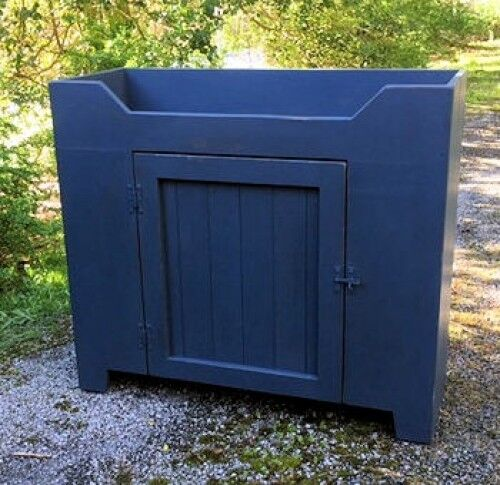 Primitive Handcrafted Cupboard-The Strafford Dry Sink