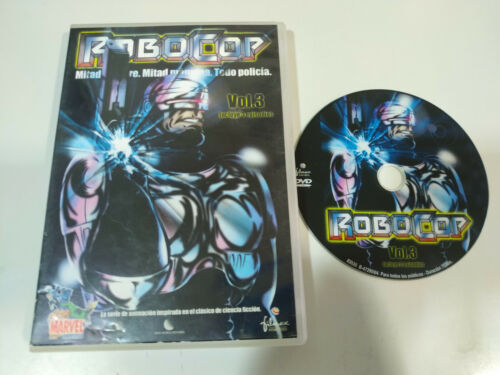 Robocop Volumen 3 - 3 Episodios Marvel - DVD Español English Region 2