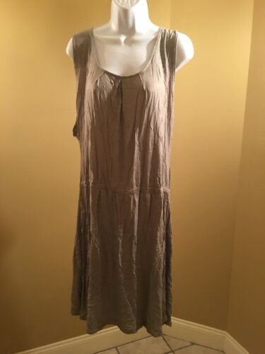 Introspect women's maternity Grey maxi dress XXL