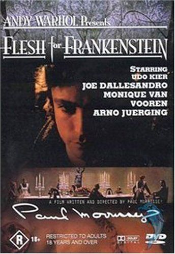 Flesh For Frankenstein (DVD, 2004)--FREE POSTAGE