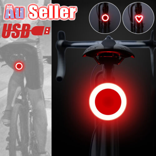 Ultrabright Rear Cycling USB Rechargeable COB Bike Back Lamp Bicycle Tail Light