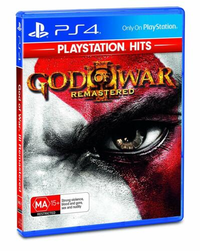 GOW3 God Of War 3 Remastered Sony PS4 Playstation 4 Action RPG Adventure Game