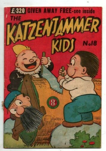 KATZENJAMER KIDS   No 18 by ROTARY COLORPRINT  195Os  FINE CONDITION