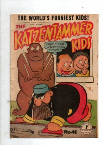 KATZENJAMER KIDS   No 41  by ROTARY COLORPRINT  195Os  VG  CONDITION
