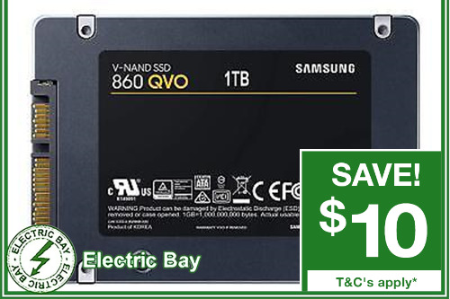 """1TB Samsung 860 QVO SSD 2.5"""" SATA Internal Solid State Drive Laptop Replacement"""