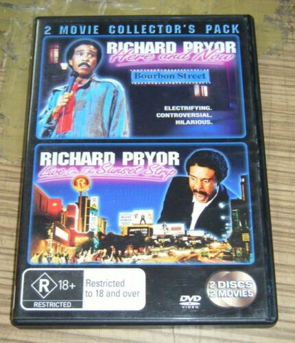 Pre Owned DVD - Richard Pryor: Here and Now / LIVE On The Sunset Strip [B5]