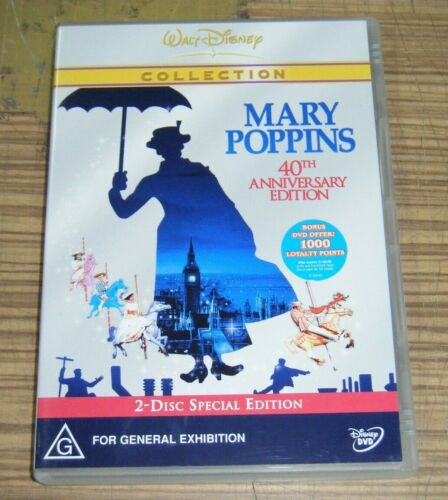 Pre Owned DVD - Mary Poppins (40th Anniversary Edition) [B5]