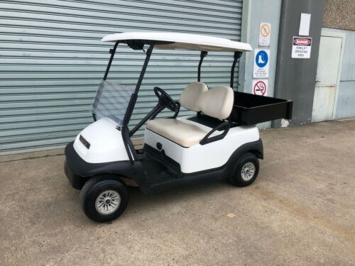 Utility Club Car PRECEDENT 48V Electric Golf Cart Buggie Buggy with ute tray