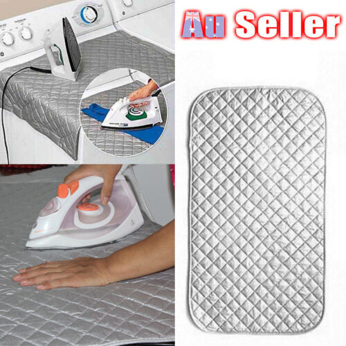 Cotton Ironing Mat Iron Board Travel Washer Portable Compact Dryer Magnetic