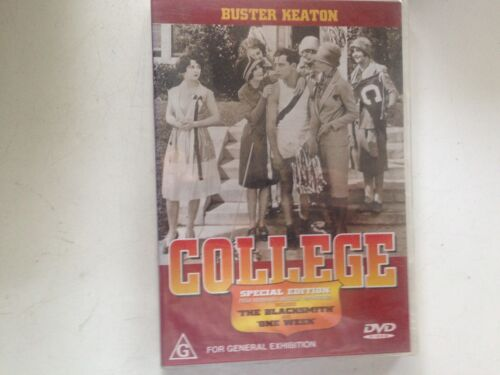 College Buster Keaton (DVD, 2001) new sealed stock Rockingham WA