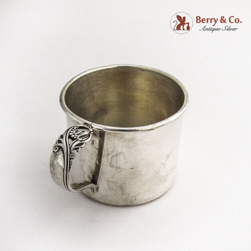 Spring Glory Baby Cup International Sterling Silver 1942