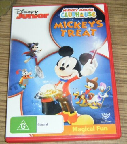 Pre Owned DVD - Mickey Mouse Clubhouse: Mickey's Treat [B3]