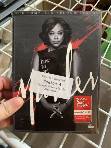 How to Get Away With Murder: The Complete Second Season (Season 2) DVD NEW