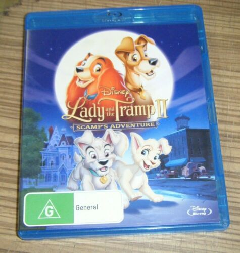Pre-Owned Blu Ray - Lady and the Tramp II: Scamp's Adventure