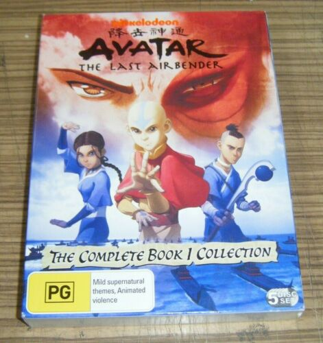Pre-Owned DVD - Avatar: The Last Airbender   The Complete Book 1 Collection [A9]