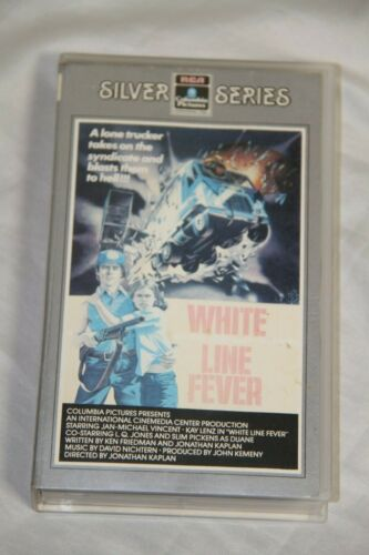 WHITE LINE FEVER - RCA COLUMBIA SILVER SERIES - VHS