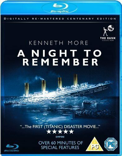 A Night to Remember [Blu-ray] [1958] [DVD][Region 2]