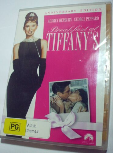 Breakfast At Tiffany's - Audrey Hepburn George Peppard new/sealed R4 DVD posted
