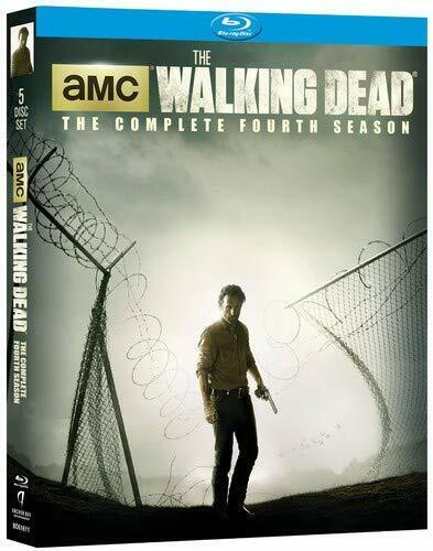 The Walking Dead Complete Fourth Season Series 4 TV Show Blu-Ray Set NEW Zombies