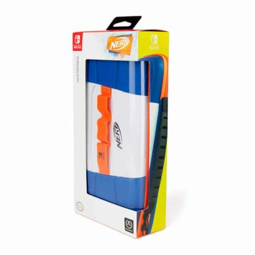Officially Licensed NERF Rare Hard EVA Storage Case For Nintendo Switch Console