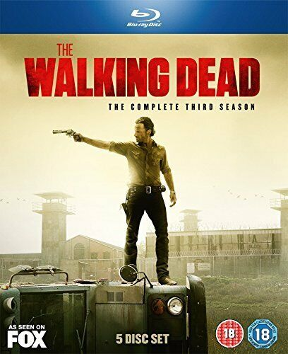 The Walking Dead Complete Season Series 3 TV Show Blu-Ray Box Set NEW Zombies