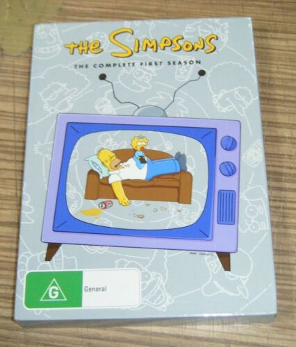 Pre-Owned DVD - The Simpsons: The Complete First Season [B6]