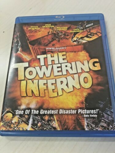 Towering Inferno ( 1974 ) Blu ray REGION A LIKE NEW