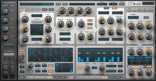 NEW Reveal Sound Spire Polyphonic Virtual Synth FL Studio Cubase Plug