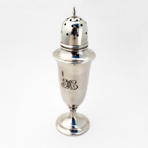 Old Maryland Plain Sugar Shaker No 17 Kirk Sterling Silver Mono