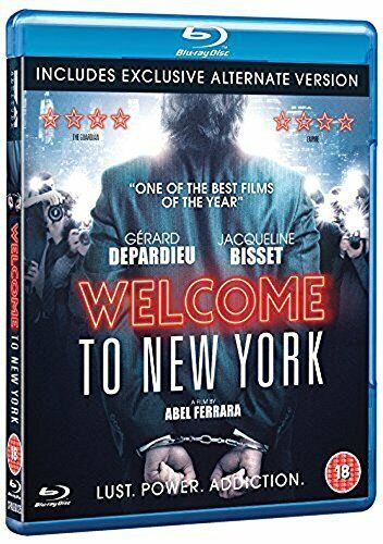 Welcome To New York [Blu-ray] [DVD][Region 2]