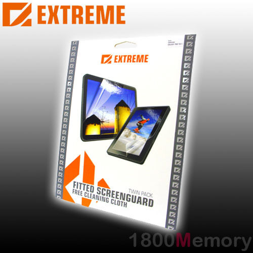 Extreme Screen Protector Guard 2Pack for BlackBerry Bold 9000 Clear Film Anti UV