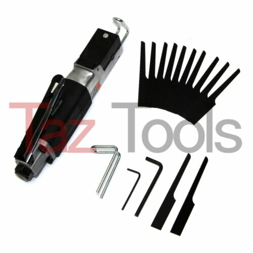Air Body Saw High Speed Reciprocating Metal  Cutting Cut-off Tool with 12 Blades