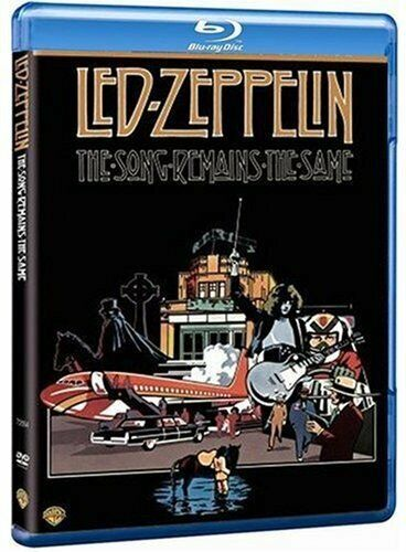 Led Zeppelin: The Song Remains The Same [Blu-ray] [1976] [Region Free] [DVD]