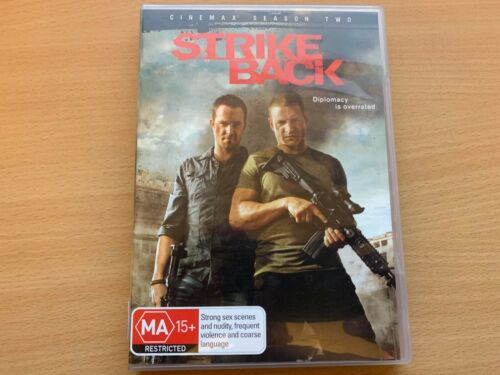 Strike Back Season 2 The Second Series Two Philip Winchester (DVD 4-Disc) R4