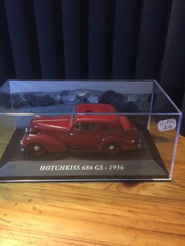 Altaya 1/43 Scale VOITURE FRANCAISE HOTCHKISS 686 GS-1936   (V.FR 24)
