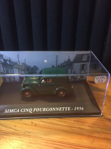 Altaya 1/43 Scale VOITURE FRANCAISE SIMCA CINQ FOURGONNETTE -1936 (V.FR 23
