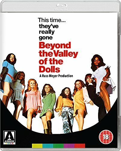 Beyond the Valley of the Dolls [Blu-ray] [DVD][Region 2]